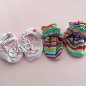 Other - Cute 0-3 soft shoes
